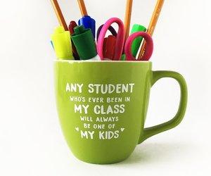 school, teacher, and teaching image