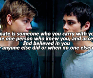 newt, otp, and dylan o'brien image