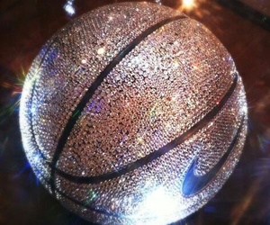 nike, Basketball, and glitter image
