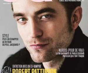 cover, gq, and robert pattinson image