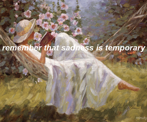 quote, sadness, and temporary image