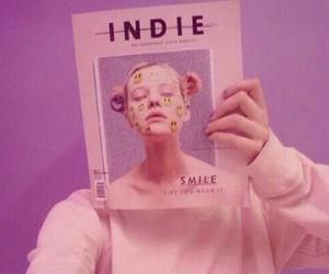 album, pink, and tumblraesthetic image