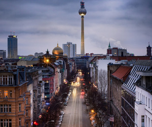 germany, city, and berlin image