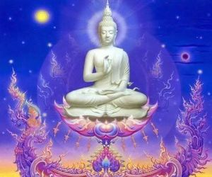 Buddha and meditation image