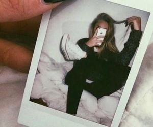 polaroid, black, and tumblr image