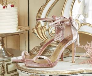 baby pink, pink, and shoes image