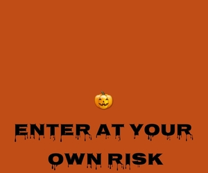 background, Halloween, and orange image