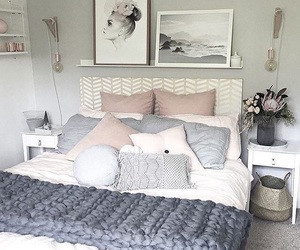 bedroom, decoration, and girl image