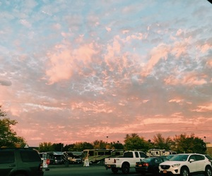 aesthetic, clouds, and cotton candy image