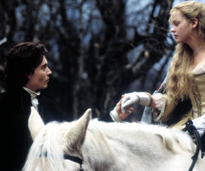 johnny depp, christina ricci, and sleepy hollow image