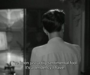 quotes, sentimental, and fool image