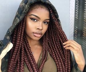 braids, beauty, and black women image