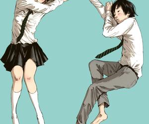 manga, pun pun, and oyasumi pun pun image