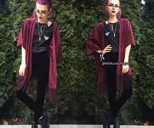 alternative, grunge, and kimono image