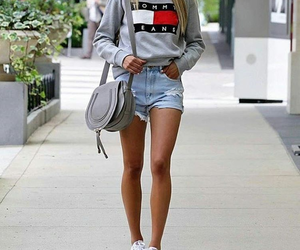 girl, outfit, and tommy image