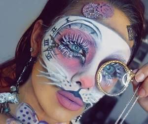 alice in wonderland, Halloween, and makeup image