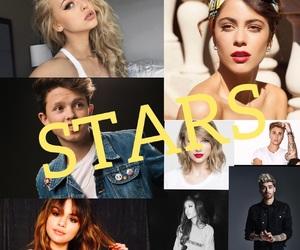 stars, justinbieber, and love image