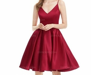 dress, outfit, and Prom image