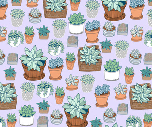 pattern, plants, and background image