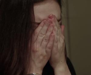 girl, sad, and movie image