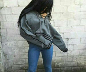 fashion, sexy, and casual looking image