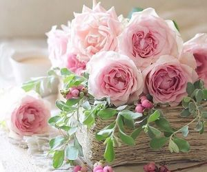 roses, decoration, and flores image