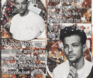 larry, louis tomlinson edit, and one direction image