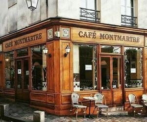 cafe, paris, and place image