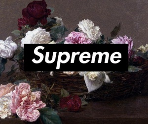 flowers, supreme, and wallpaper image