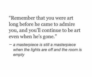 quotes, art, and masterpiece image