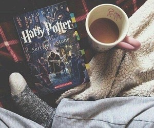 coffee and harry potter image