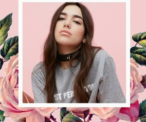 roses, tumblr, and dualipa image
