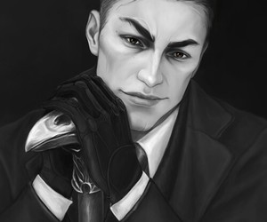 kaz, brekker, and six of crows image