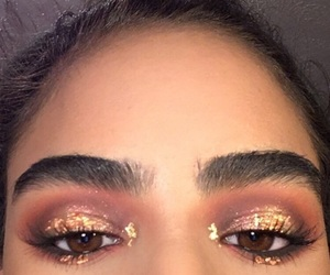 eyebrows, face, and fall image