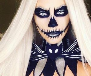 Halloween, makeup, and halloween makeup image