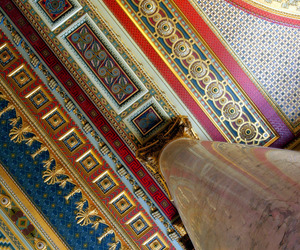 architecture, ceiling, and column image