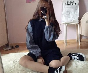girl, ulzzang, and tumblr image