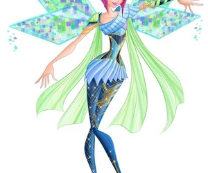 fairy, tecna, and world of winx image
