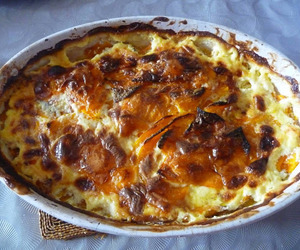 cooking, gratin, and food image
