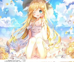 anime, loli, and аниме image