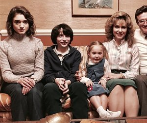 stranger things, finn wolfhard, and family image