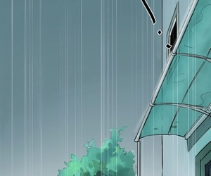 raining, line webtoon, and wallpaper image