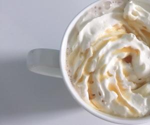 coffee, makeup, and starbucks image