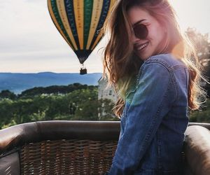 hot air balloon, we heart it, and bucket list image