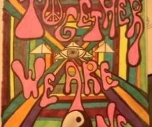 hippie, quotes, and together image