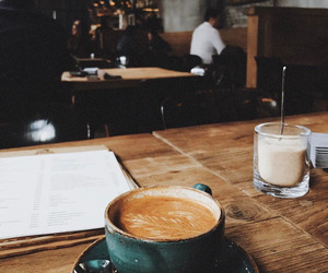 coffee, cozy, and cafe image