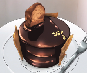anime, anime food, and anime food gif image