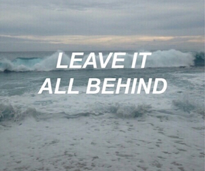 quotes, grunge, and sea image