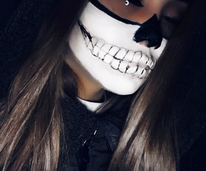 beautiful, beauty, and face paint image