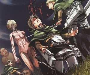 Otaku, snk, and shingeki no kyojin image